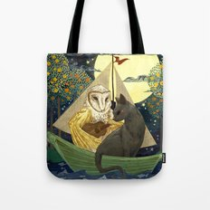 The Owl and the Pussycat Tote Bag