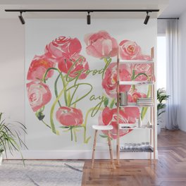 Ranunculus Wall Mural