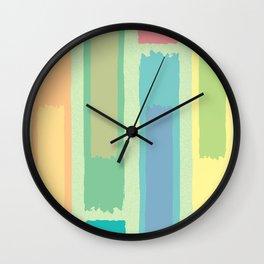 Paint Swatch Design Wall Clock