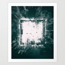 CLEANROOM WHITE Art Print