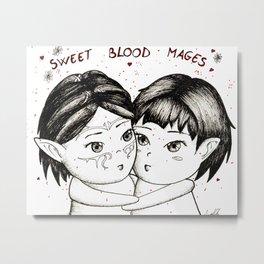 Sweet blood mages Metal Print