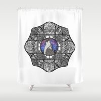 howl Shower Curtains featuring Howl by amyrose