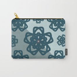 Blue Dianne Madalas Carry-All Pouch