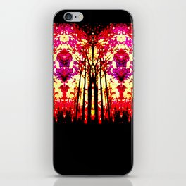 Sunset Stain Glass iPhone Skin