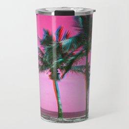 Wavvy Beach - RG_Glitch Series Travel Mug