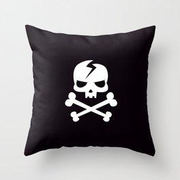 Memento Mori X Bones Throw Pillow