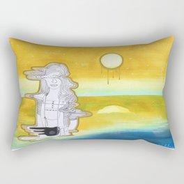Crashing into another universe Rectangular Pillow