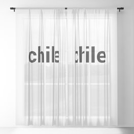 chile Sheer Curtain