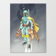 Star Wars Boba Fett and friends Canvas Print