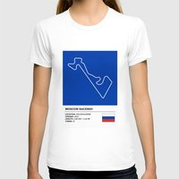 moscow T-shirts featuring Moscow Raceway by MS80 Design