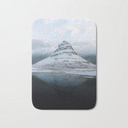 Kirkjufell Mountain in Iceland - Landscape Photography Bath Mat