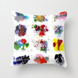 12 daily rituals Throw Pillow