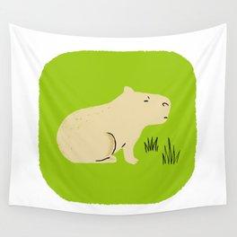 Capybara Wall Tapestry