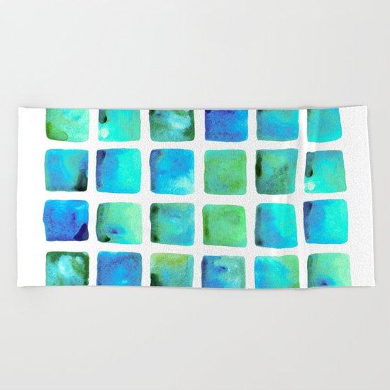 Seaweed Glow Beach Towel
