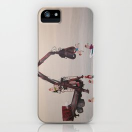 the shower iPhone Case