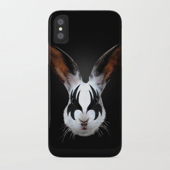 Kiss of a Rabbit iPhone Case