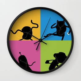 Bmo's Campaign Mosaic. Wall Clock