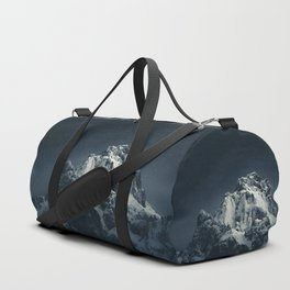 Darkness and mountain Duffle Bag