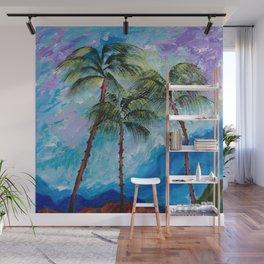 Three Palms Wall Mural