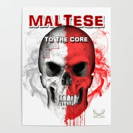 To The Core Collection: Malta Poster