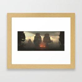 Battle of the Nile Framed Art Print