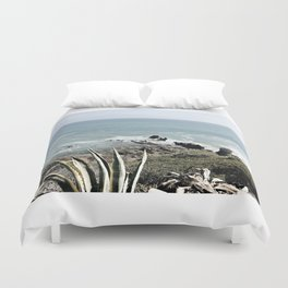 the beautiful pacific Duvet Cover
