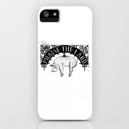 Praise the Lard iPhone Case