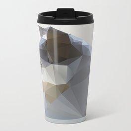 GEO - WINTER FOX Metal Travel Mug