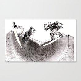 Surf Skate Canvas Print