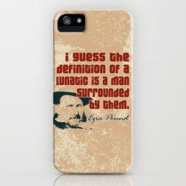 Lunatic iPhone Case