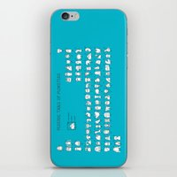 chemistry iPhone & iPod Skins featuring Monstrous Chemistry by maudie&ma
