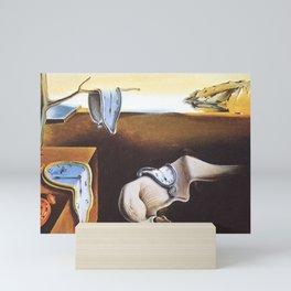 THE PERSISTENCE OF MEMORY - SALVADOR DALI Mini Art Print