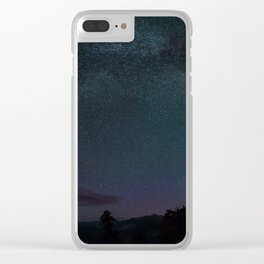 Stars At Yosemite Clear iPhone Case
