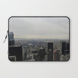 Grey Clouds over Central Park, NYC Laptop Sleeve