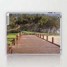 Beachside Boardwalk Laptop & iPad Skin