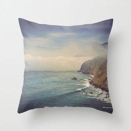 Big Sur Coast Throw Pillow