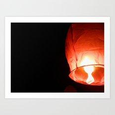 Paper Lantern Art Print