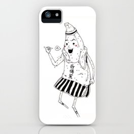 :Banana do Aerobic iPhone Case
