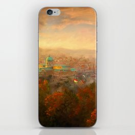 View of Budapest iPhone Skin