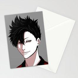 Tetsurou Kuroo portrait Stationery Cards