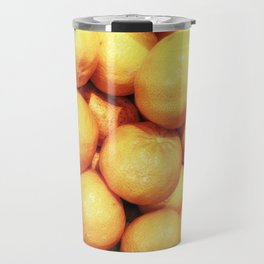 texture of mandarins Travel Mug