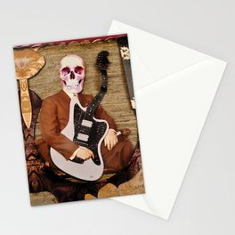 Guitar Reaper Stationery Cards