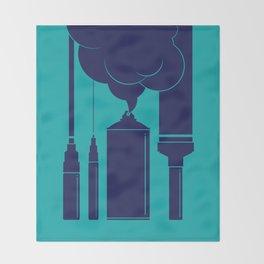 Art Supplies Throw Blanket