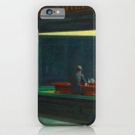 Nighthawks by Edward Hopper iPhone Case