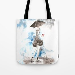 Rainy Tote Bag