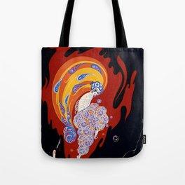 "Art Deco Design ""Oriental Tale"" Tote Bag"