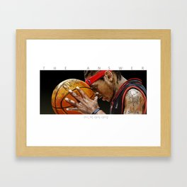 Only The Strong Survive Framed Art Print