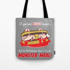 Monster meal Tote Bag