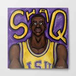 Don't Be Shaq'tin a Fool! Metal Print