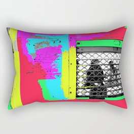 Trapped in Commute & Conditioning Rectangular Pillow